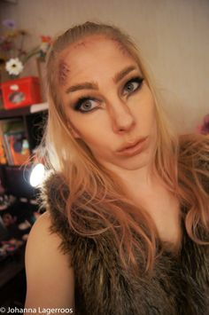Werewolf Halloween look