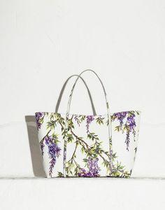BORSA ESCAPE GRANDE DAUPHINE STAMPA FIORI - Borse medie in pelle - Dolce&Gabbana - Estate 2015
