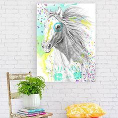 War Pony Canvas Print by Urban Road   Zanui