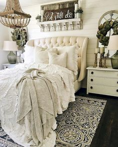 Nice 60 Rustic Master Bedroom Decor and Inspiration https://idecorgram.com/106-60-rustic-master-bedroom-decor-inspiration