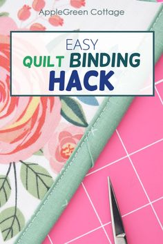 Beginner Quilt Patterns, Easy Sewing Patterns, Quilting For Beginners, Easy Sewing Projects, Quilting Tips, Sewing Projects For Beginners, Quilting Tutorials, Sewing Hacks, Sewing Ideas