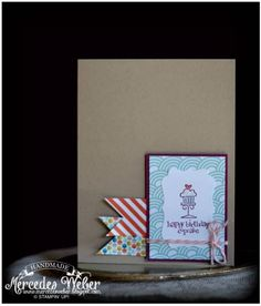 CAS Cupcake by girl3boys0 - Cards and Paper Crafts at Splitcoaststampers