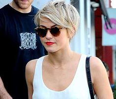 25 Stylish Long Pixie Cuts: #20. Julianne Hough Trendy Longer Pixie Cut