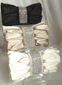 CREAM NUDE / CHAMPAGNE BLACK RED SATIN DIAMANTE EVENING CLUTCH BAG WEDDING PROM £11.99
