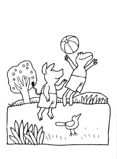 - Juf Joyce kleurplaten Arnold Lobel, Play S, Frog And Toad, Childrens Books, Coloring Pages, Snoopy, Comics, School, Fictional Characters