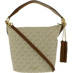86b002f59100 Michael Kors Women's Large Elana East West Leather Top-Handle Bag Tote # MichaelKors #TopHandleBag