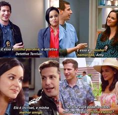 Best Tv Shows, Movies And Tv Shows, Jake And Amy, Jake Peralta, Brooklyn Nine Nine, Series 3, The Flash, Memes, Movie Tv