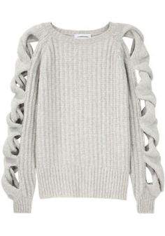 must have!!! Cutouts in sweaters