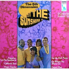 Let The Sunshine In, Aquarius - The Fifth Dimension Sunshine Music, Good Day Sunshine, Aquarius, The Beatles, Let It Be, Words, Running Away, Vinyl Records, Goldfish Bowl