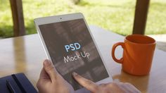 Use this summer inspired iPad mockup to show off your mobile designs or client work showcase. Thanks for the download!…