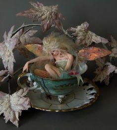 tea bath..