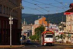 Либерец, трамвай Tatra T3M.04 № 80