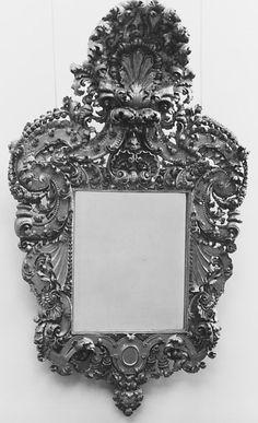 The Metropolitan Museum of Art, Late 17th Century Italy, Mirror [Maddie]
