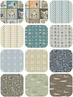Who doesn't love dogs? Check out Doglandia Fat Quarter Bundle Peter Horjus for Blend Fabrics at http://plumgoodquilting.com/shop/index.php?main_page=index&cPath=120_703
