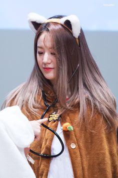 #fromis_9 #Gyuri Kpop Girl Groups, Korean Girl Groups, Kpop Girls, Im Falling For You, Pre Debut, Extended Play, Sweet Girls, Suho, Pop Group