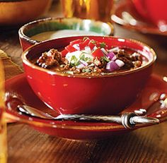 Chili...Yummm on Pinterest | Chilis, Black Bean Chili and Turkey Chili