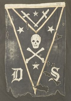 Badges, Odd Fellows, Vintage Flag, Skull And Bones, Memento Mori, Occult, Vintage Designs, Illustration Art, Graphic Design
