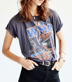 Junk Food The Who Tour Tee