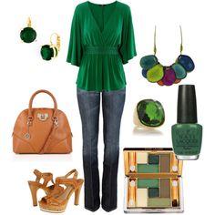 Pretty green.