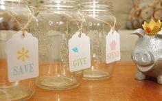 DIY Free Printable - Jar Tags