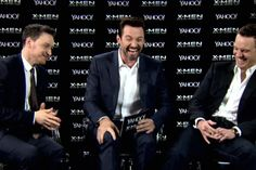 LOVE THEM. X-Men cast does impressions of one another