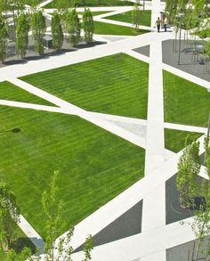 landscape architecture - Scholars' Green Park by Modern Landscaping, Landscaping Tips, Garden Landscaping, Landscaping Software, Traditional Landscape, Contemporary Landscape, Green Landscape, Landscape Design, Landscape Architecture Jobs