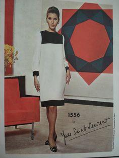 60's vintage Yves Saint Laurent