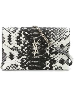 8ec4d00a37d Shop Saint Laurent 'Monogram' shoulder bag in Vitkac from the world's best  independent boutiques
