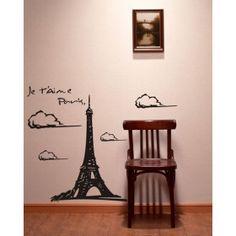 Eiffelturm Wandsticker