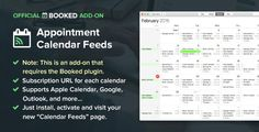 Booked Calendar Feeds Add-On v1.0.10