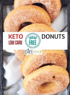 These low carb donuts taste just like the real thing, just without all the sugar and carbs! They are deliciously moist and spongy, with a hint of vanilla flavour. Perfect for Keto, sugar free and gluten free diets. These sugar free donuts come in … Keto Fat, Low Carb Keto, Low Carb Recipes, Diet Recipes, Yogurt Recipes, Chicken Recipes, Cooking Recipes, Donuts Keto, Sugar Free Donuts
