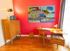 Die Fifties leben – im Appartement Témoin | BLEU, BLANC, ROUGE