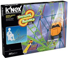 Zooming Up With the KNEX Infinite Journey Roller Coaster Building Set #KNEX (Giveaway Ends 1/13) - Mom and More