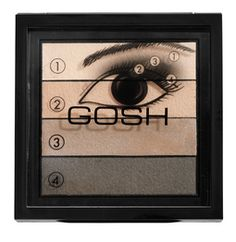 GOSH Smokey Eyes Palette - 02 Brown