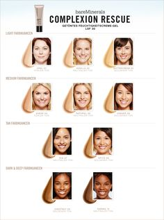 Bare minerals shade selection best chart for bare minerals i m