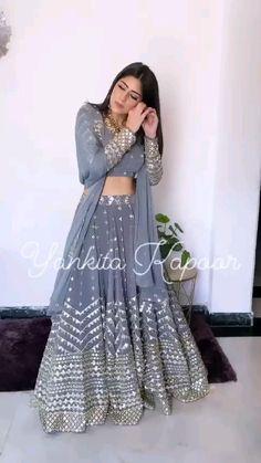 Indian Wedding Gowns, Indian Bridal Lehenga, Indian Gowns Dresses, Indian Bridal Fashion, Indian Fashion Dresses, Dress Indian Style, Indian Designer Outfits, Indian Outfits, Indian Wear