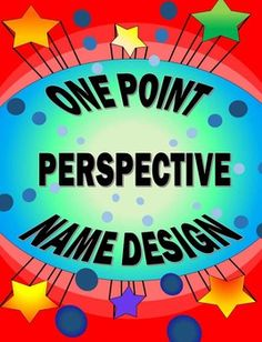 This has been a favorite lesson of mine for years!  I usually use this design for my 2-D drawing classes art folders.  It is a high success lesson that is easy to teach and fun for the students.  I especially like it because I can use it to introduce my Linear Perspective unit.