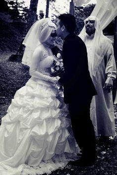 and...the kiss :* #alendawedding2014