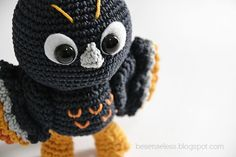 Tac the owl - amigurumi pattern - besenseless.blogspot.com