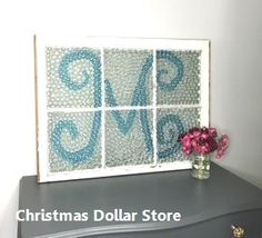 Diy holiday projects using dollar store ornaments 28 Diy holiday projects using dollar store ornamen Dollar Store Christmas, Dollar Store Crafts, Dollar Stores, Christmas Ideas, Christmas Crafts, Pottery Barn Style, Flat Marbles, Vintage Windows, Wooden Windows