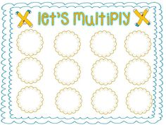 Here's a game for practicing basic multiplication facts using an array model.