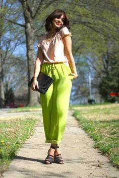 Pantalones radioactivos | Fashion Love Venezuela