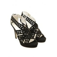 KMJ Giorgia Black Womens Heels - Shipping Cap Promotion- - TopBuy.com.au