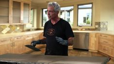 How to Make a Cast in Place Countertop using plastic edge forms