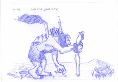 Doodle 089: Atlas