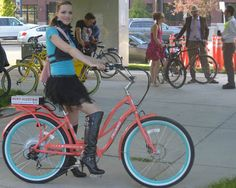 Remarkable Jane @ Bike Prom (lovely Pedego ebike courtesy of bluemonkeybikes.com)