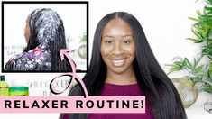 Relaxer Routine: How I Relax My Hair | Relaxed Hair - Hairlicious Inc. Healthy Relaxed Hair, Healthy Hair Tips, Healthy Hair Growth, Grease Hairstyles, Get Thicker Hair, Hair Porosity, Hair Regimen, Relaxer, Smooth Hair