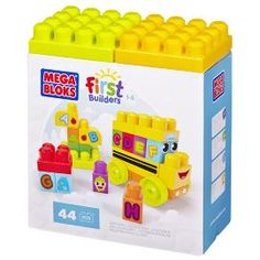 Mega Bloks First Builders ABC Spell Schoolbus from our Learning Toys range - Tesco.com
