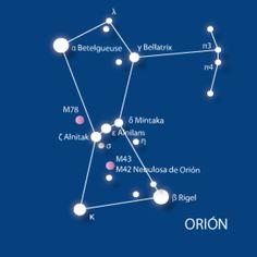 12 constelaciones para localizar a simple vista en el cielo nocturno: Orión