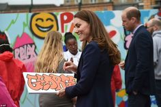 Kate Middleton and Prince William arrive in West Midlands for mental health visits | Daily Mail Online